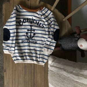 H&M Nautical Knit Sweater